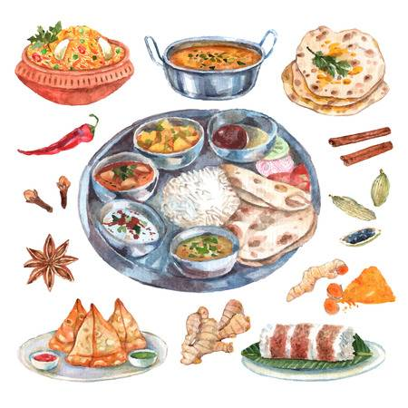 Indian food clipart 2 » Clipart Station.