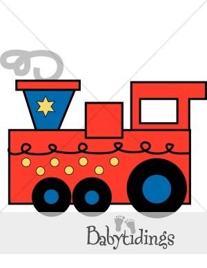 Steam Train Engine Clip Art.