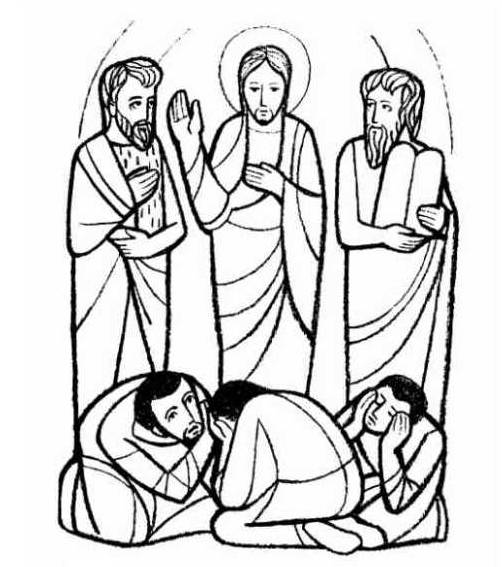 Transfiguration clipart 1 » Clipart Station.