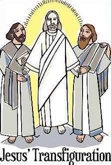 Free the Transfiguration of Jesus Clipart.