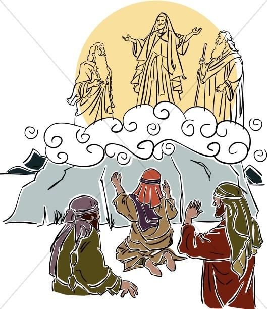 Jesus\' Transfiguration.