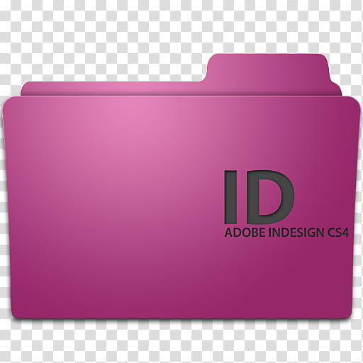 Adobe program ico, ID Adobe Indesign CS transparent.