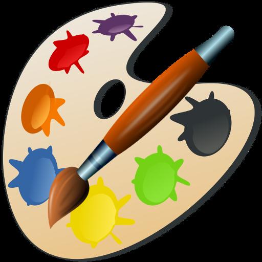 Palette Painting Art Clip art.