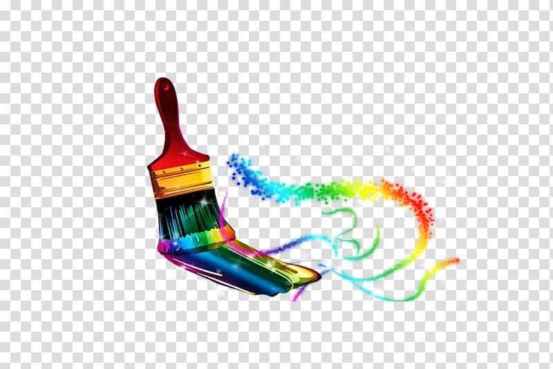 Paintbrush Painting House painter and decorator, paint brush.