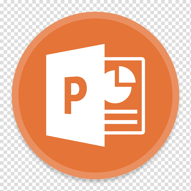 Button UI Microsoft Office , Microsoft Powerpoint logo.