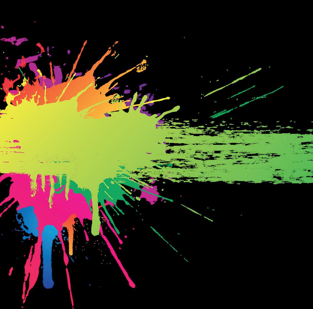 Color Splash Art Clip art.