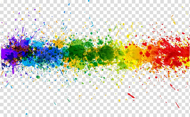 Color , splash transparent background PNG clipart.