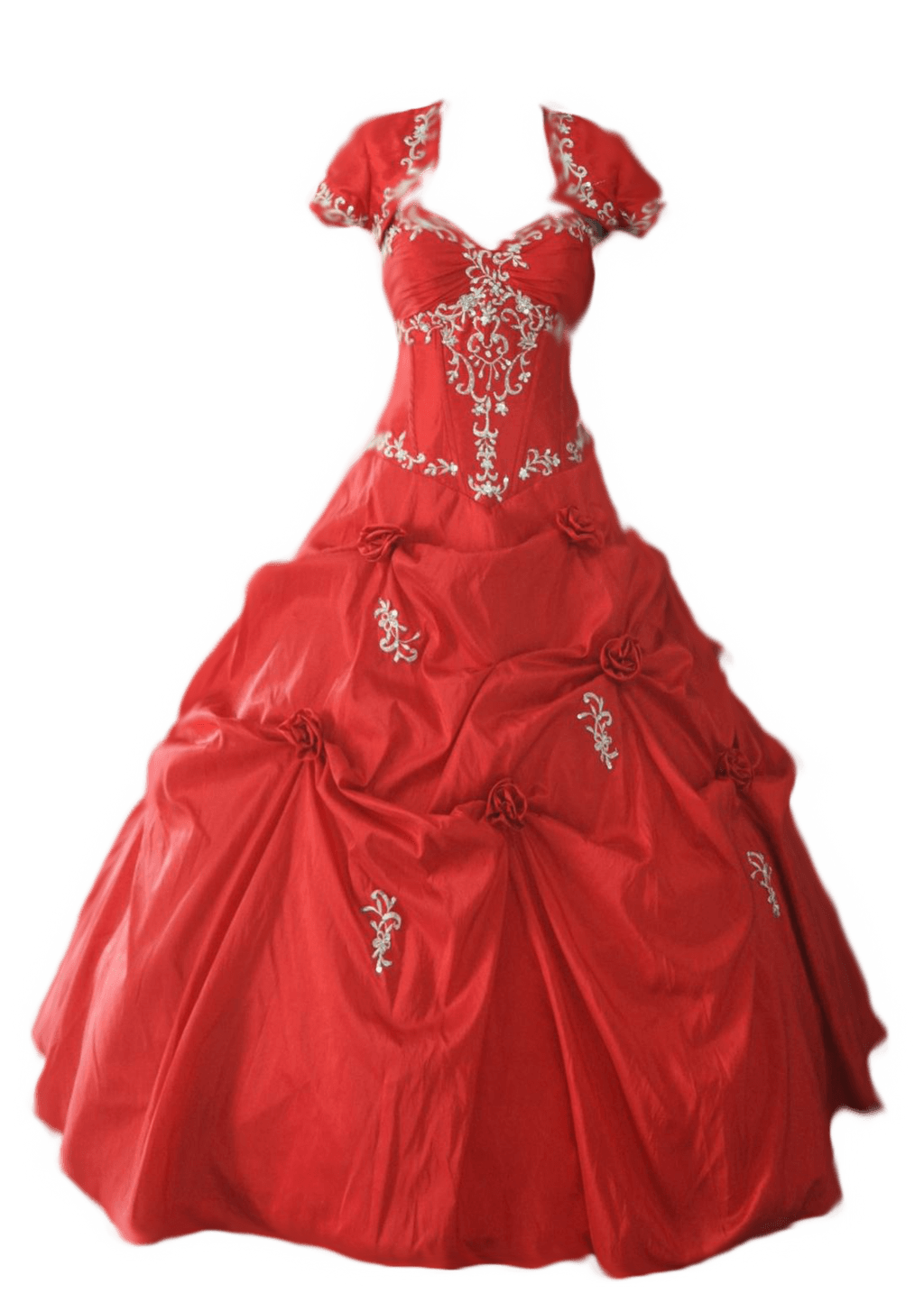 Dress Wedding Sideview transparent PNG.