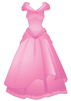Girl Dresses Clipart.