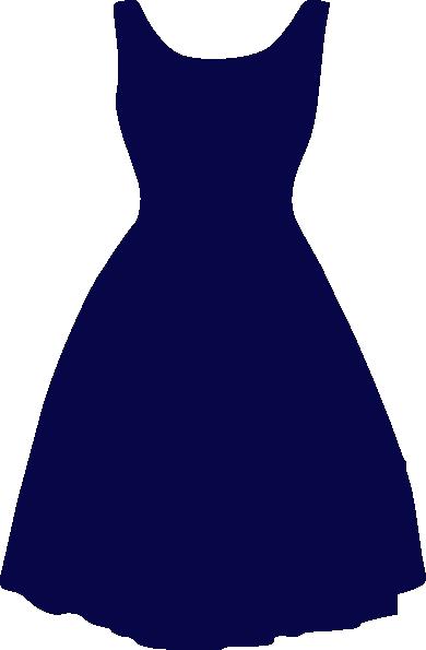 Blue Dress Clip Art at Clker.com.