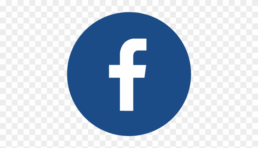 Facebook Round Logo Png Transparent Background.