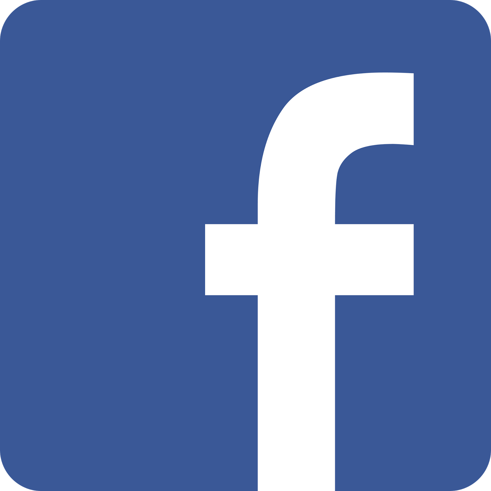 Facebook Transparent Logo Png 1600x1600.