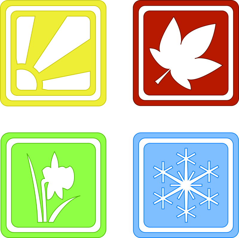 Four Seasons PNG Transparent Images.