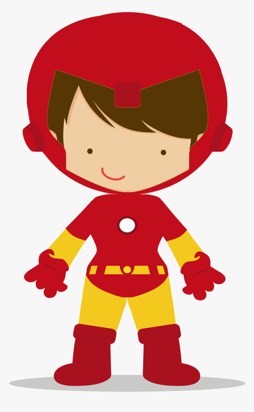 Clipart Boy Superhero.
