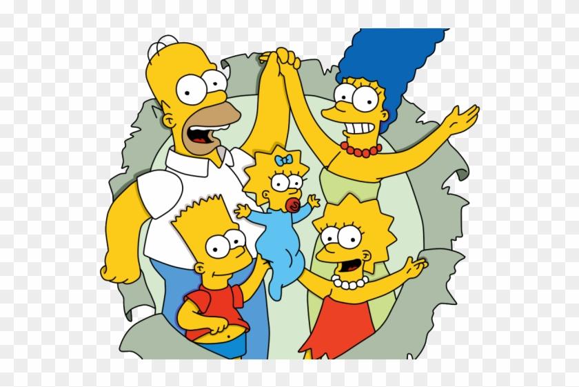 The Simpsons Clipart Transparent Background.