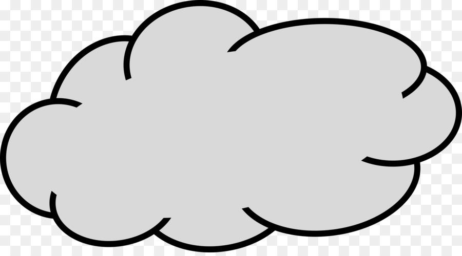 Cloud Drawing Clip art.