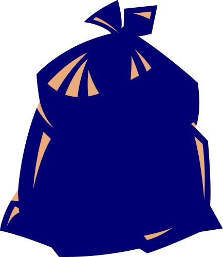 Garbage Bag Clipart.