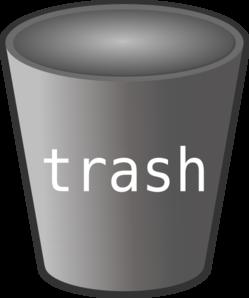 Trash Bin Clip Art at Clker.com.