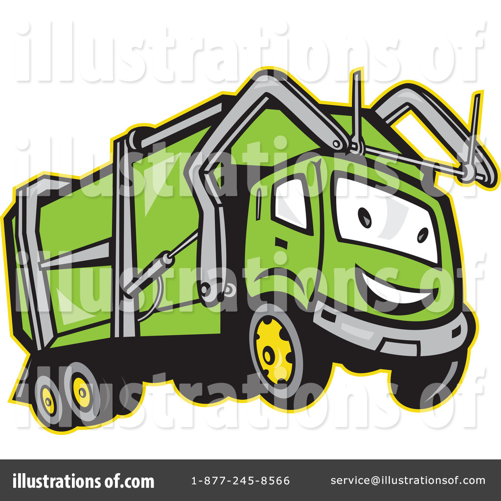 Garbage Truck Clipart #1146383.