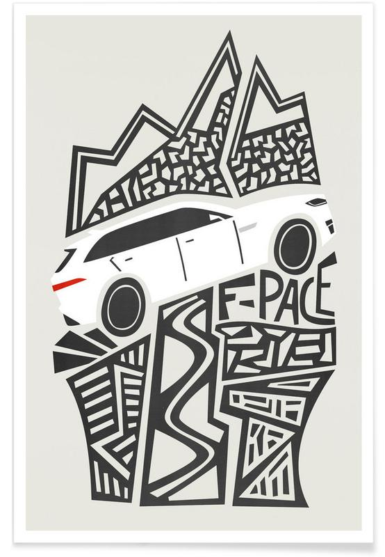 F Pace Poster.