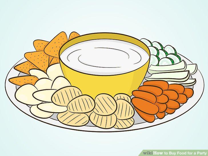 Appetizers clipart veggie plate, Appetizers veggie plate.