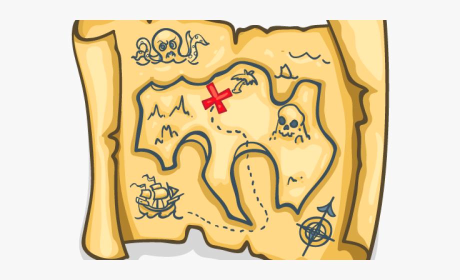 Chest Clipart Treasure Map.