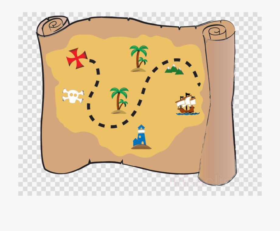 Pirate Clipart Treasure Map.