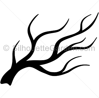 Clipart Tree Branch Silhouette.