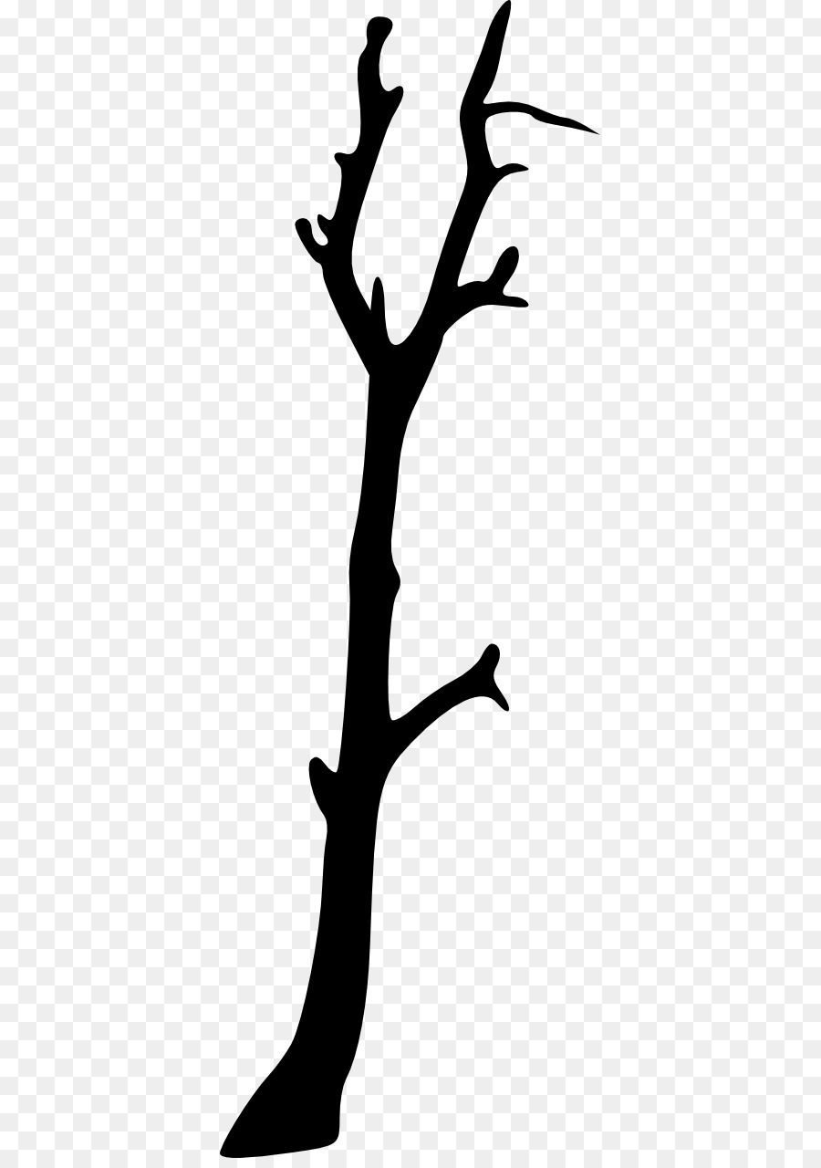 Tree Branch Silhouette png download.
