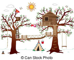 Tree house Stock Illustrations. 39,084 Tree house clip art images.