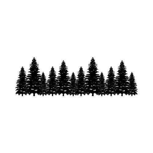 Tree line clipart 4 » Clipart Station.