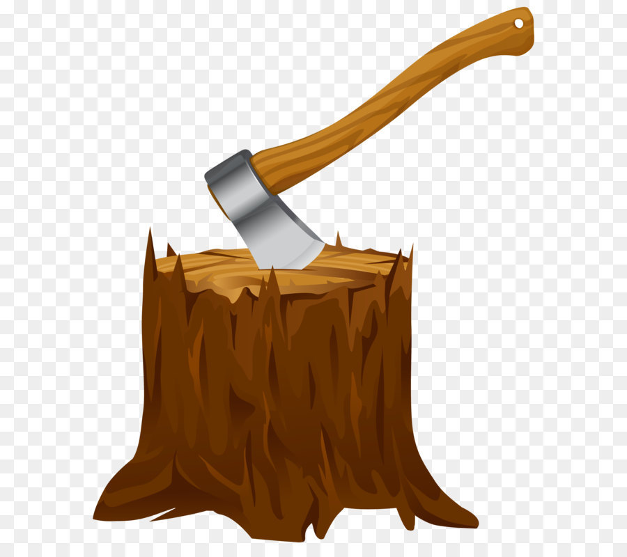 Tree stump Axe Clip art.