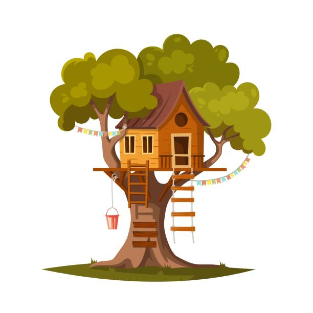 Best Treehouse Illustrations, Royalty.