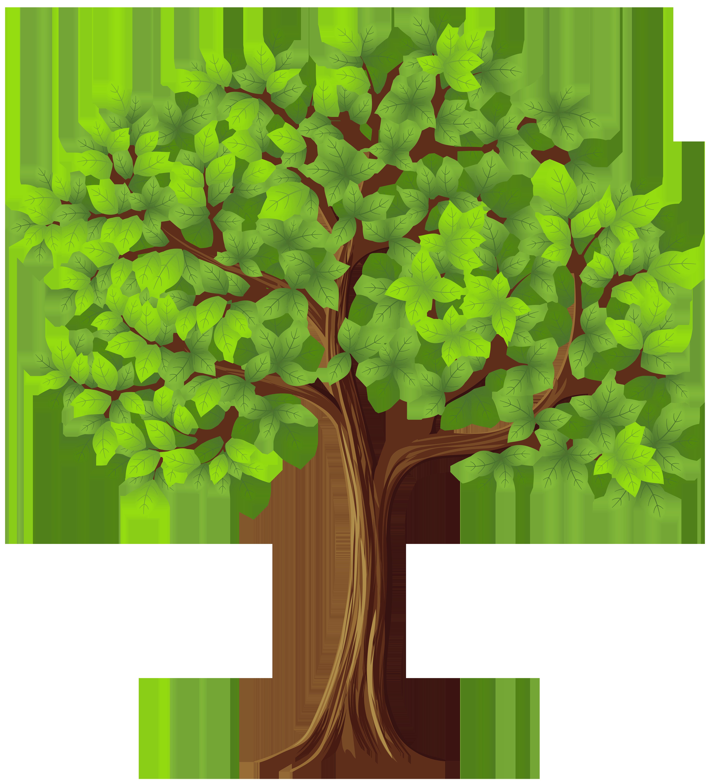 Tree PNG Transparent Clip Art Image.