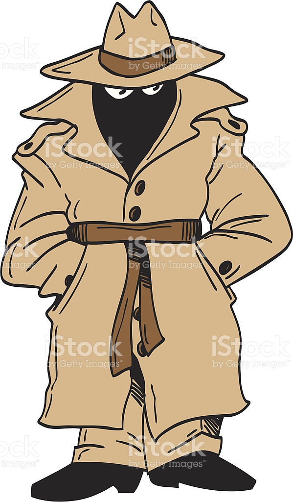 Trench Coat Clipart.