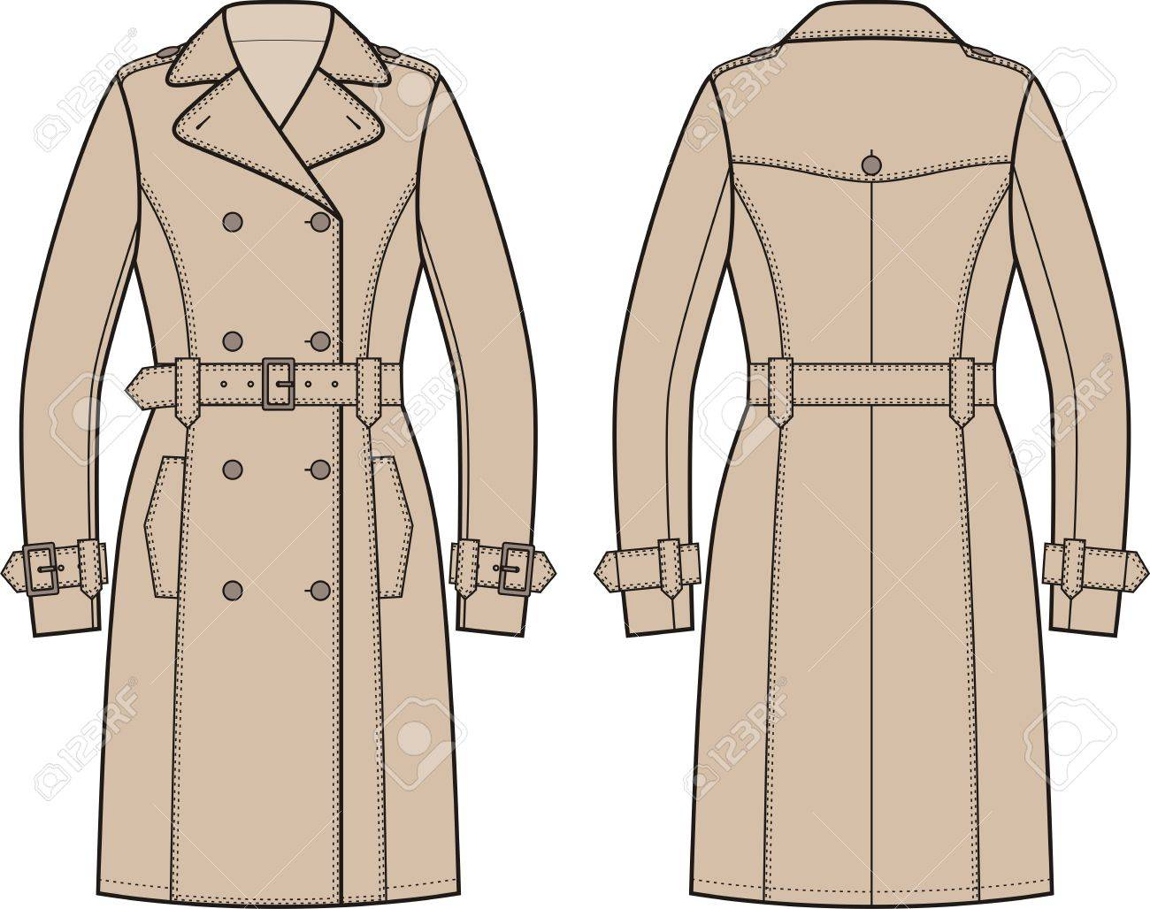 Trench coat » Clipart Station.