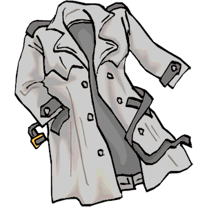 Trench coat clipart 2 » Clipart Station.
