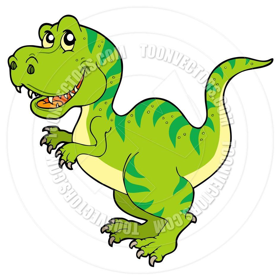 T Rex Dinosaur Clip Art.