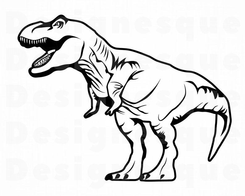 Collection of T rex clipart.