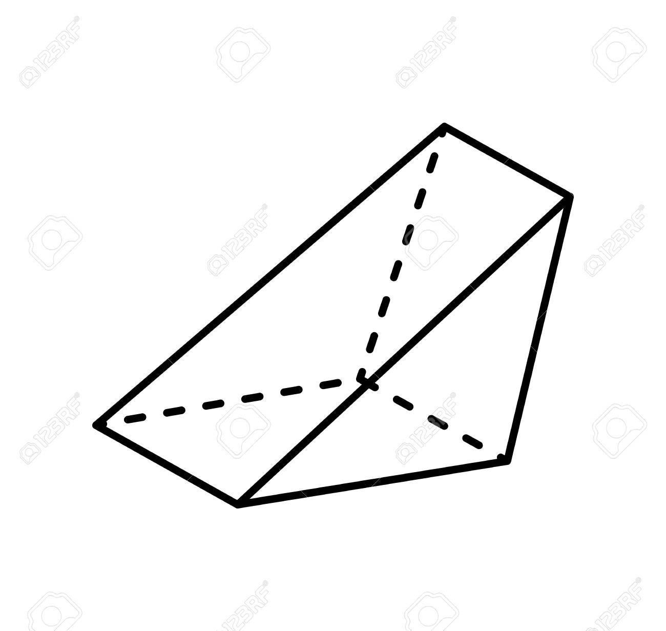 clipart triangular prism #18