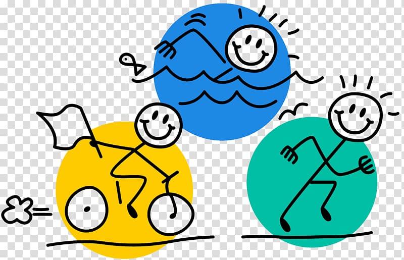 USA Triathlon Swim, Bike, Run Swimming, Teamwork Goals Humor.