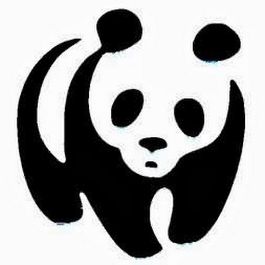 Superb Shocked Tribal Baby Panda Tattoo Design.
