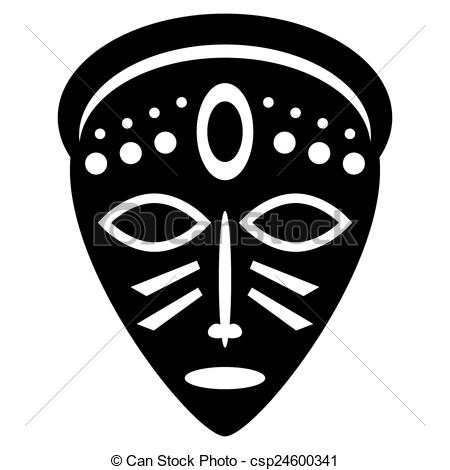 Africa clipart african mask, Africa african mask Transparent.
