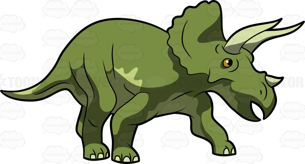 Triceratops clipart » Clipart Station.