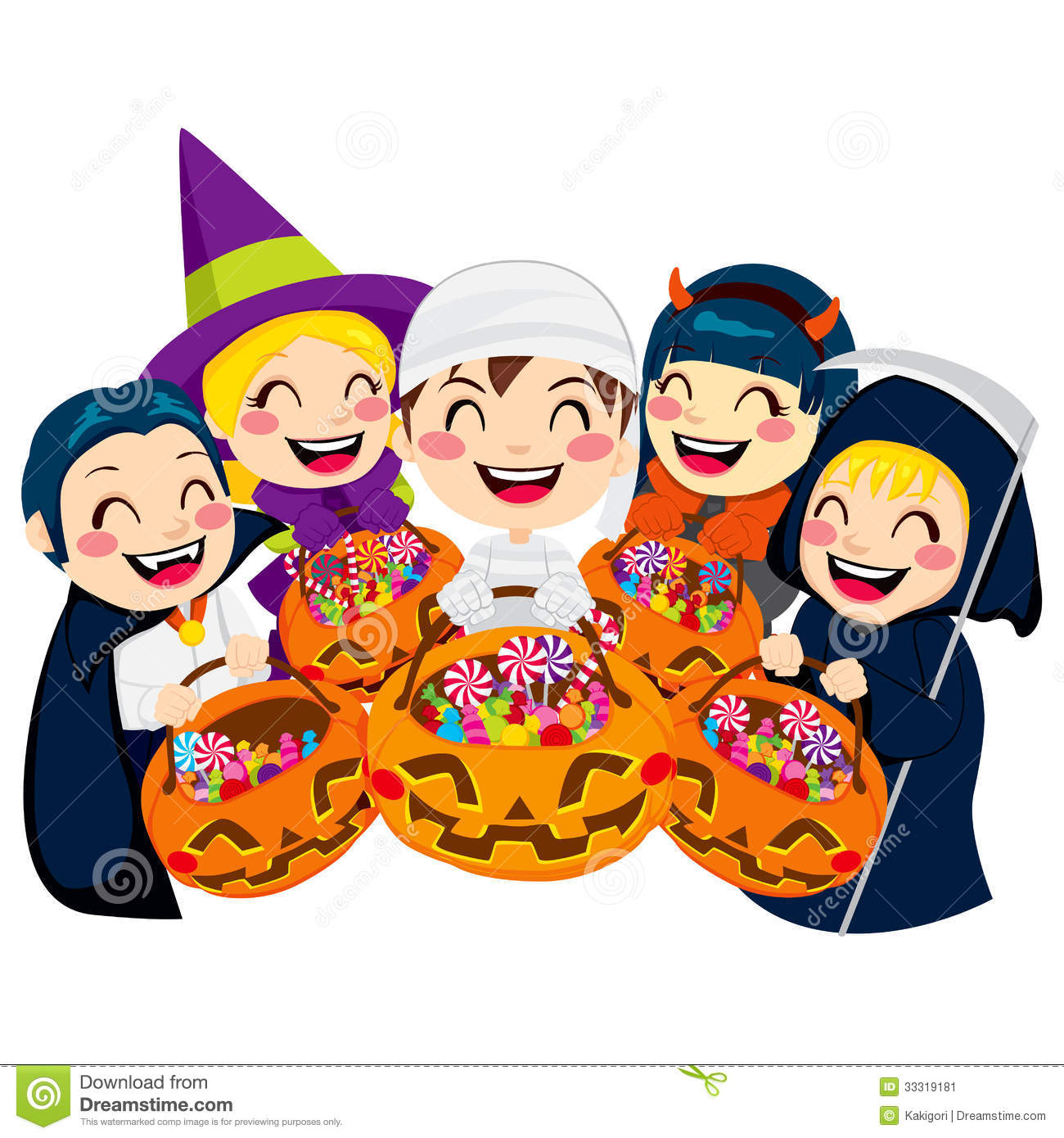 Trunk Or Treat Candy Clipart.