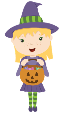 Trick or treaters clipart 2 » Clipart Station.