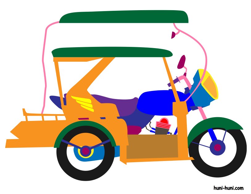 Tricycle clipart 1 » Clipart Station.