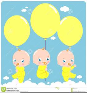 Triplets Clipart.