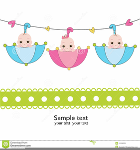 Free Triplets Clipart.