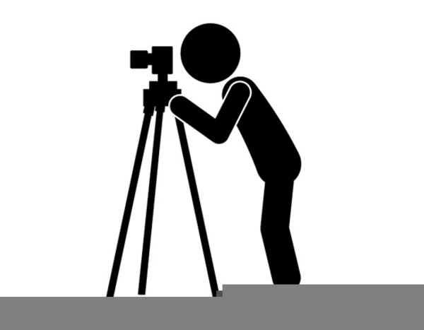 Clipart Camera Tripod.